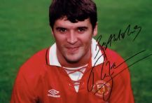 Roy Keane Autograph Signed Photo - Manchester United
